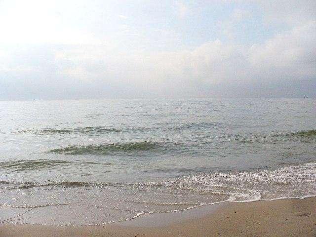 Darłówko plaża - Zamek w Darłowie